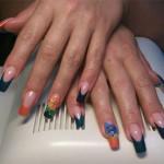 Наращивание и дизайн ногтей, фото №157