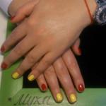 Наращивание и дизайн ногтей, фото №161