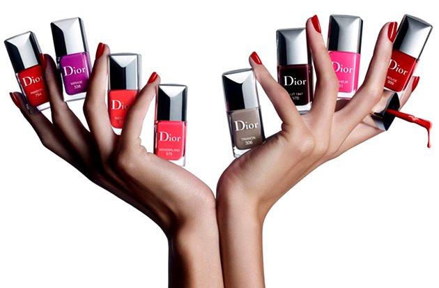 Vernis Couture Gel Effet - новая весенняя коллекция от Dior