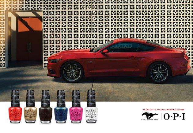 Лак OPI Ford Mustang - жажда скорости